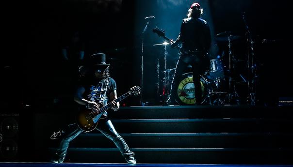 Guns N' Roses, Axl Rose, Slash