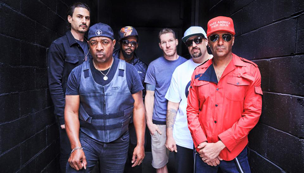 Prophets of Rage, B-Real, Chuck D, Tom Morello, Brad Wilk