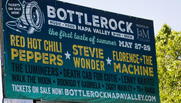 BottleRock, Napa,