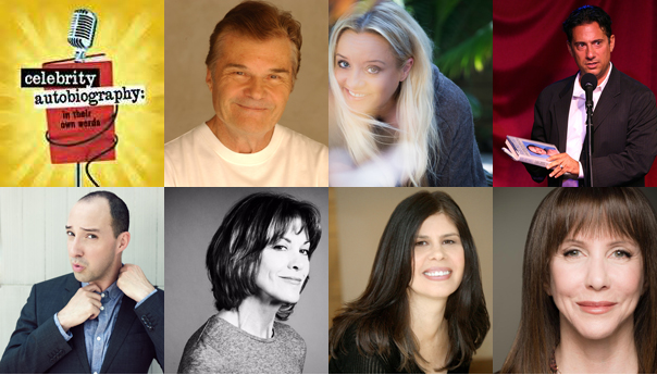 Celebrity Autobiography, Lucy Davis, Tony Hale, Wendie Malick, Laraine Newman, Eugene Pack, Dayle Reyfel, Fred Willard, Cedric Yarbrough