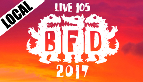 Live 105, KITS, BFD, BFD 2017
