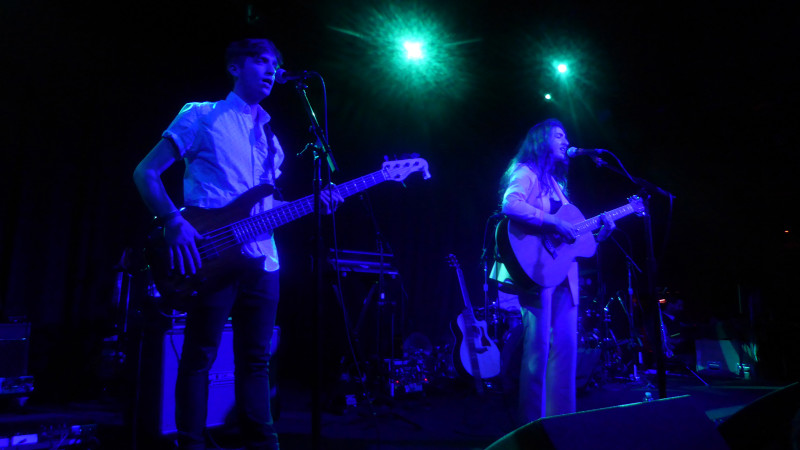 Bailen performs at the Independent in San Francisco on April 23, 2017.
