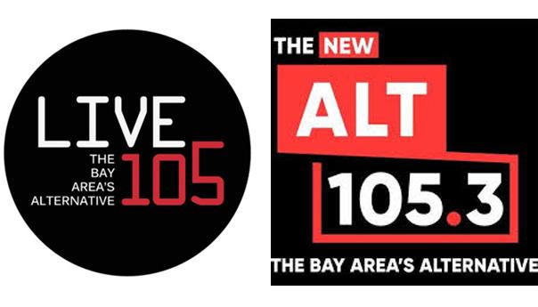 The New Alt 105.3, Alt 105.3, Live 105, KITS, Entercom, CBS
