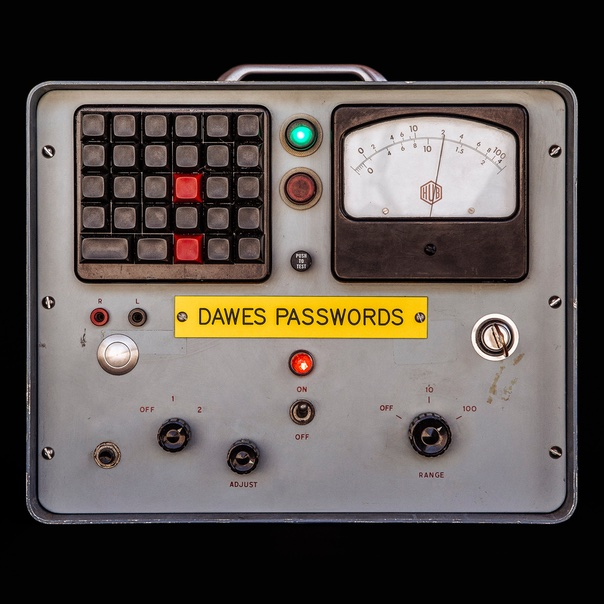 Dawes, Passwords