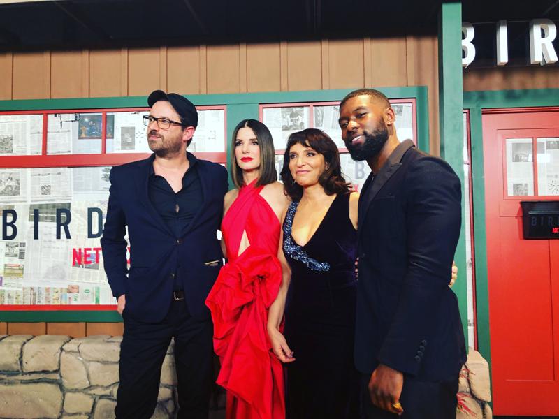 Josh Malerman, Sandra Bullock, Susanne Bier, Trevante Rhodes, Bird Box, Netflix