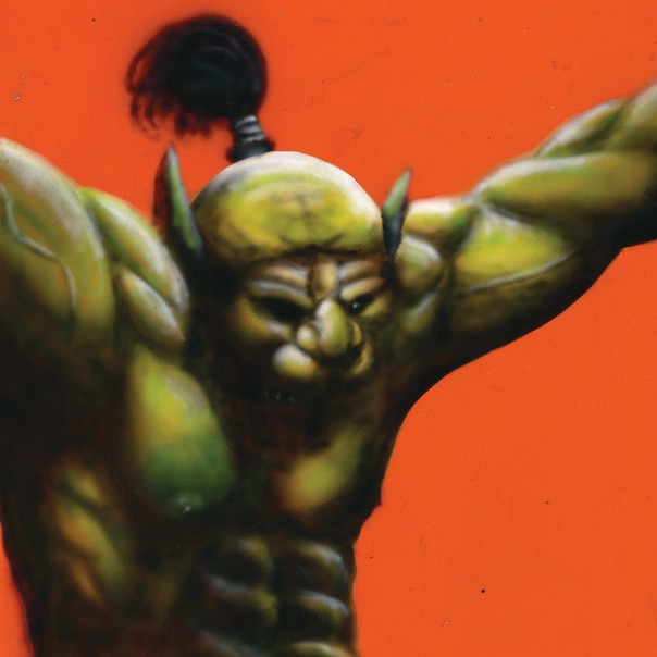 Oh Sees, face stabber