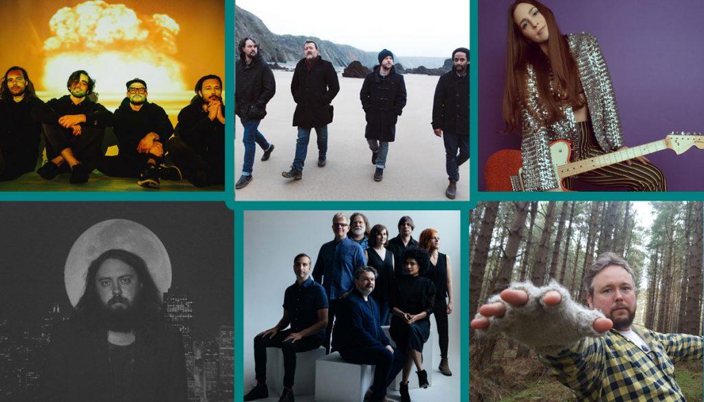 Microwave band, Elbow, Angela Perley, Richard Dawson, The New Pornographers, Elvis Depressedly
