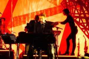 Jorja Chalmers, Bryan Ferry, Roxy Music