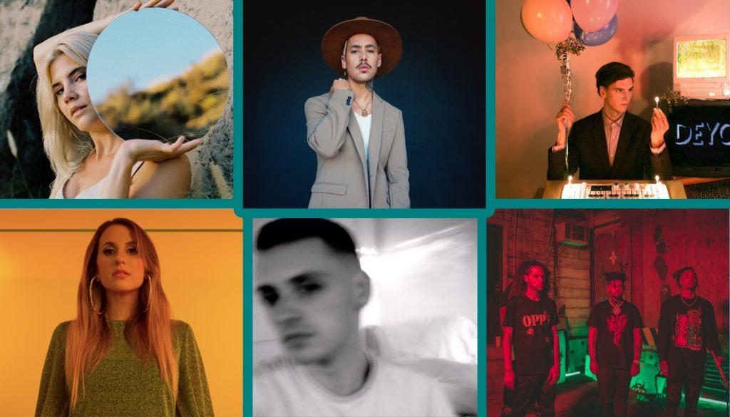 Claire George, Jen Dior, DEYO, Ricky Remedy, Smokepurpp, Zay27, Puma Blue, Caitlyn Smith