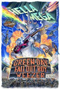 The Hella Mega Tour, Green Day, Fall Out Boy, Weezer
