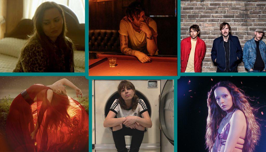 Diana DeMuth, Little Hurt, Peter Bjorn and John, Hannah Diamond, Jackie, Caitlyn Smith