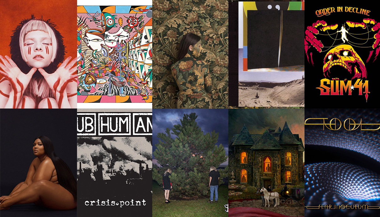 Aurora, Billy Strings, Honeyblood, Bon Iver, Sum-41, Tool, Opeth, 100 gecs, Subhumans, Lizzo