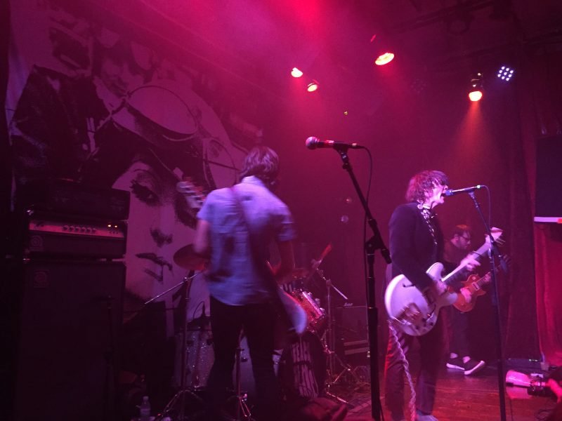 Review: Beach Slang still together in fiery, funny Rickshaw Stop gig