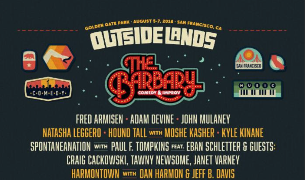 Fred Armisen, Adam Devine top Outside Lands' comedy lineup