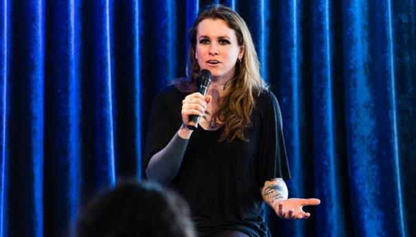 Trans rights activist, rocker Laura Jane Grace discusses hardships at Pandora in Oakland