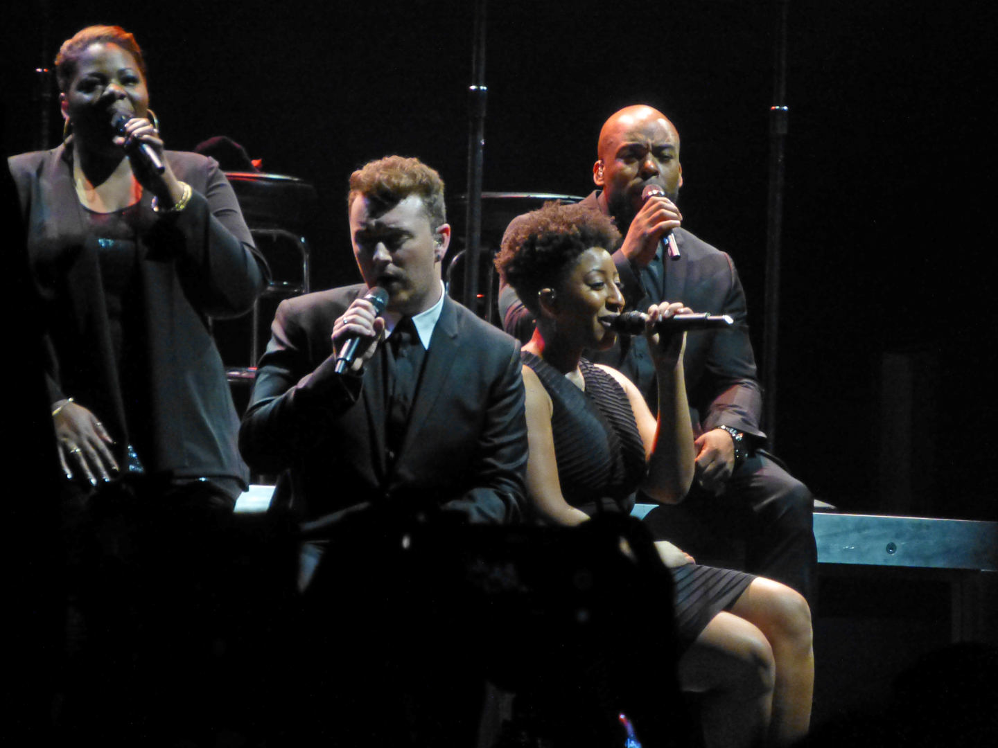 Photos and videos: Sam Smith and George Ezra - 1/31/2015