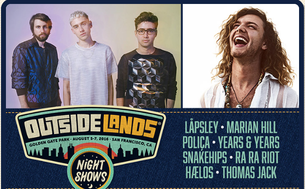 Ra Ra Riot, Poliça tapped for Outside Lands night shows