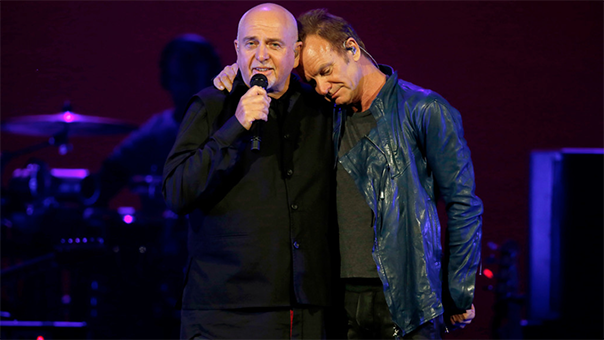 REVIEW: Peter Gabriel, Sting weave histories together at SAP Center