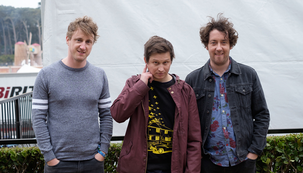 U.K. indie rockers the Wombats pick favorites in soccer, don't drive tired