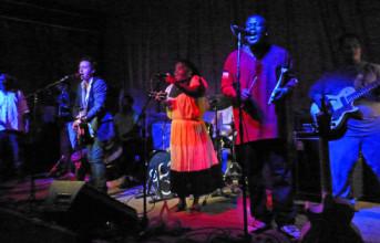 Photos & videos: The Garifuna Collective and Danny Michel at Brick & Mortar - 8/7