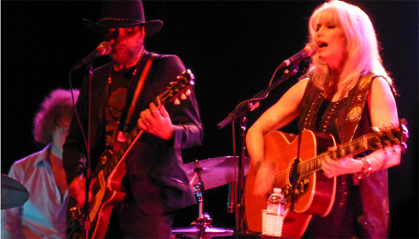 Photos & Video: Emmylou Harris & Daniel Lanois at the Warfield - 4/5/14