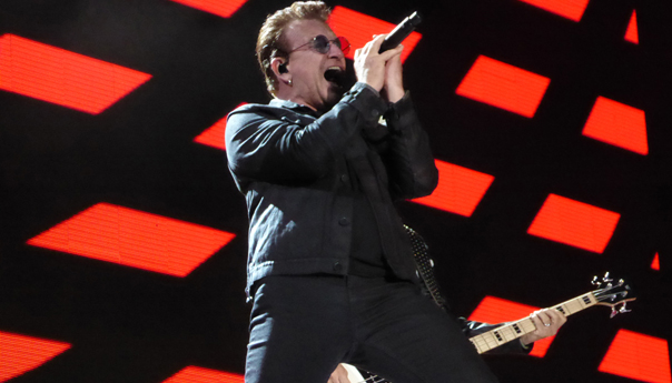 U2 doubles down on the hits, picks a fight with Trump at Dreamforce