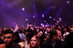Justice, Gaspard Augé, Xavier de Rosnay, fans, crowd shot, crowd