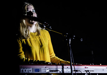 Photos: Austra sings about <em>Future Politics</em> at the Mezzanine