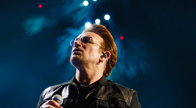 U2's Bono turns 60, shares playlist of the 60 songs that 'saved my life'
