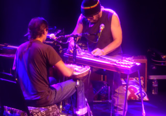 Review: Daniel Lanois and Rocco DeLuca let the music do the talking at the Independent