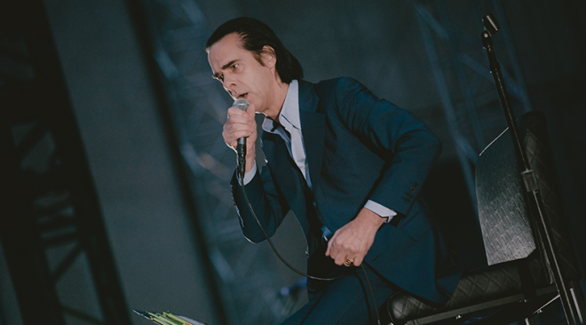 Review: Nick Cave and the Bad Seeds meet fans on level ground at the Greek