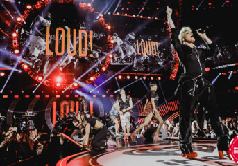 Stars deliver solid performances at iHeartRadio Music Festival