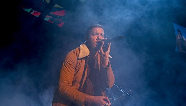 PHOTOS: Imagine Dragons dedicate Shoreline show to people of Las Vegas