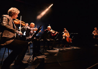 ALBUM REVIEW: Laurie Anderson and Kronos Quartet illustrate effects of natural disaster on <em>Landfall</em>