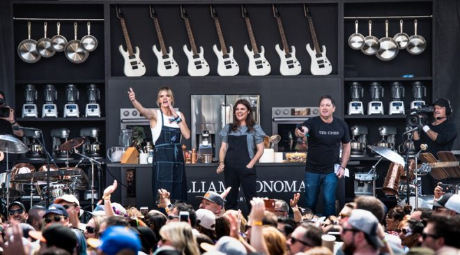 BottleRock Napa announces Williams Sonoma Culinary Stage lineup