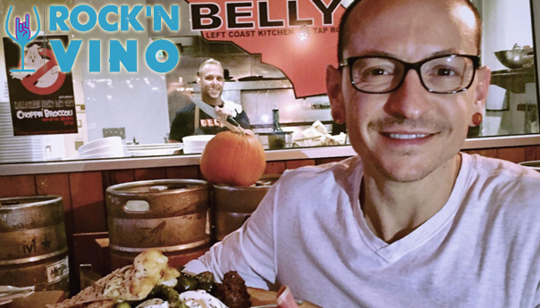 Rock'N Vino: Linkin Park super chef Gray Rollin remembers Chester Bennington one year after his death