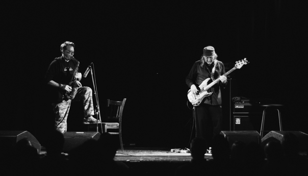 REVIEW: John Zorn and Bill Laswell explore experimentation at migrant reunification benefit at the Chapel