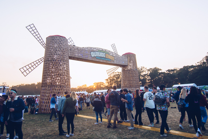 Outside Lands windmill,
