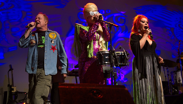 REVIEW: The B-52s shine despite technical difficulties at the Fillmore