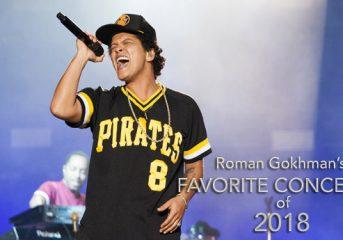 Roman Gokhman's favorite concerts of 2018: 5-1