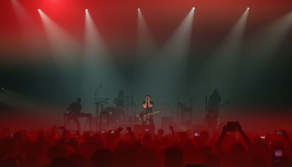 REVIEW: Nine Inch Nails show they've aged like a fine wine at Bill Graham