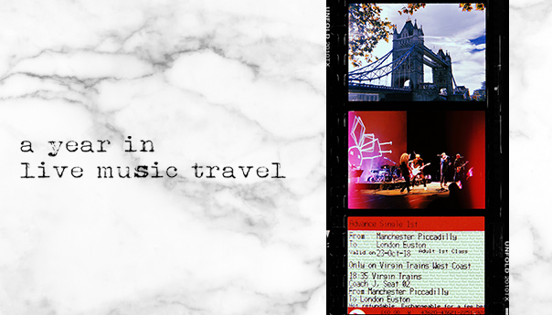A year in live music travel with Chloe Catajan and Mike DeWald