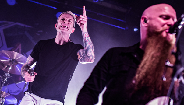 PHOTOS: Atreyu Rickrolls through metalcore night at the Fillmore