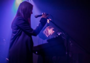 PHOTOS: Cold Cave goths out at The Chapel