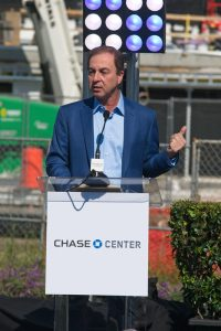 Joe Lacob, Chase Center, Golden State Warriors