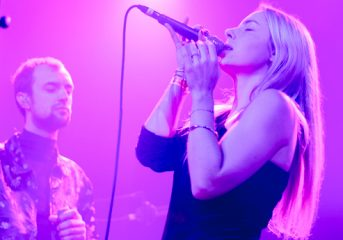 PHOTOS: HÆLOS project their vision of trip-hop futurism at The Independent
