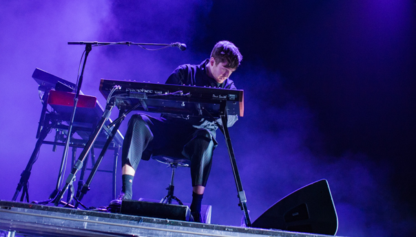 PHOTOS: James Blake assumes experimental form at the Fox Theater