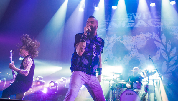 PHOTOS: Killswitch Engage and Parkway Drive combine forces at The Warfield