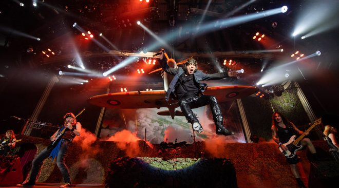 REVIEW: Iron Maiden storms through fan favorites at Oakland Arena