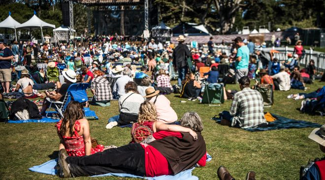 PHOTOS: Hardly Strictly Bluegrass kicks off with Tanya Tucker, Kronos Quartet
